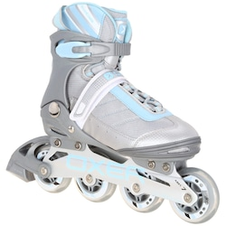 Patins Oxer Magma - In Line - Fitness - ABEC 7 - CINZA/AZUL