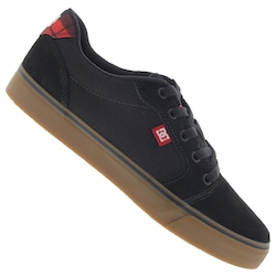 Tênis DC Shoes Anvil 2 LA - Masculino - PRETO/BRANCO