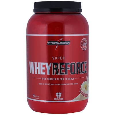Whey Protein Integralmédica Super Whey Reforce Body Size - Baunilha - 907g