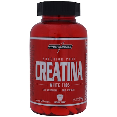 Creatina Integralmédica White Tabs - 120 Tabletes
