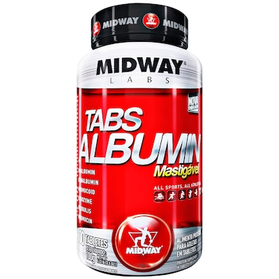 Tabs Albumin - 100 Tabletes - Midway