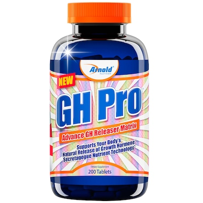 HGH Arnold Nutrition GH Pro - 200 Tabletes