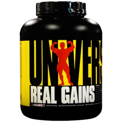 Hipercalórico Universal Real Gains - Chocolate - 1,73Kg