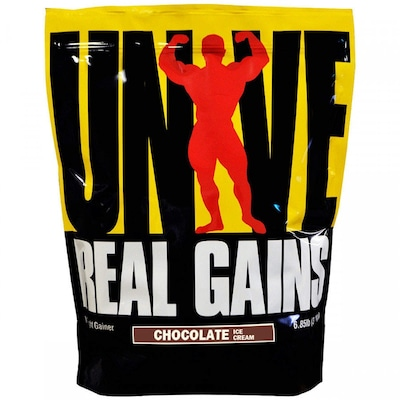 Hipercalórico Universal Real Gains - Chocolate - 3,11Kg