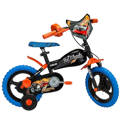 Bicicleta Caloi Hot Wheels Aro 12 - Infantil