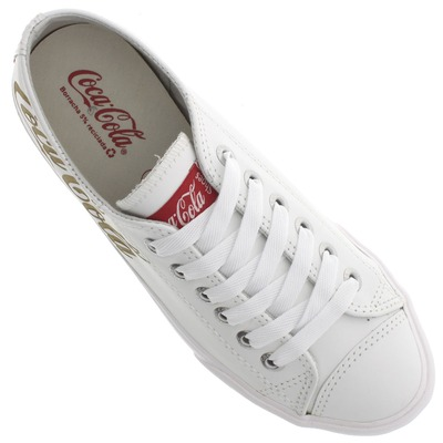 Tênis Coca-Cola Classic Basket Leather - Feminino