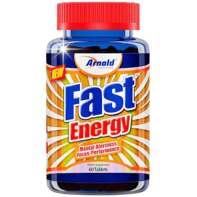 Termogênico Arnold Nutrition Fast Energy - 60 Tabletes
