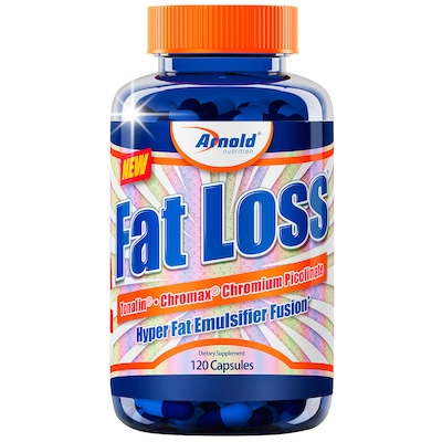 Termogenico Arnold Nutrition Fat Loss - 120 Cápsulas