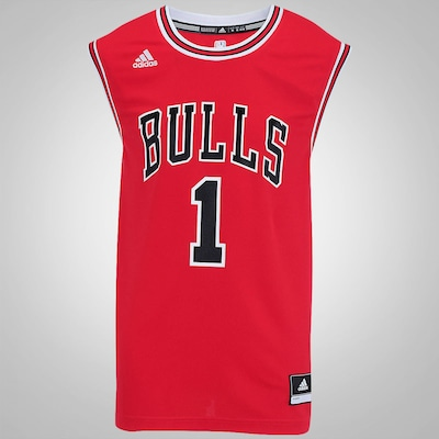 Camiseta Regata adidas NBA Chicago Bulls Road Rose - Masculina