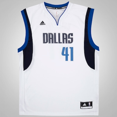 Camiseta Regata adidas NBA Mavericks Road - Masculina