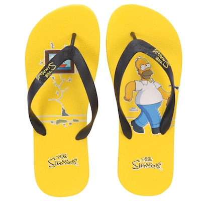 Chinelo The Simpsons Quadro - Masculino
