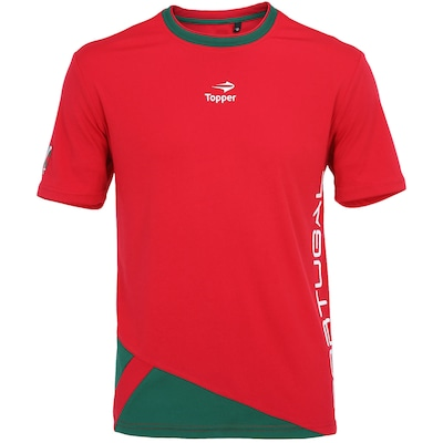 Camiseta Topper Portugal New - Masculina