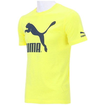 Camiseta Puma Logo Biodegradable - Masculina