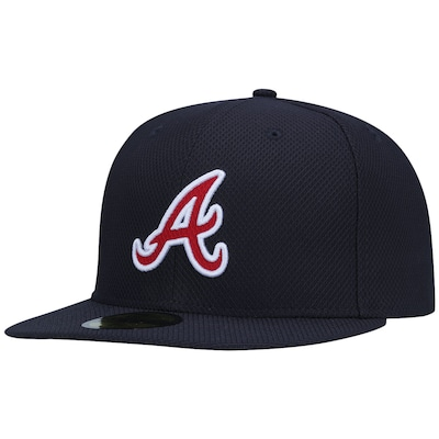 Boné Aba Reta New Era Atlanta Braves MLB - Fechado - Adulto