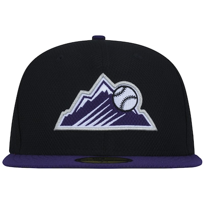 Boné Aba Reta New Era Colorado Rockies MLB - Fechado - Adulto