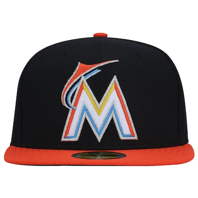 Boné Aba Reta New Era Miami Marlins MLB - Fechado - Adulto