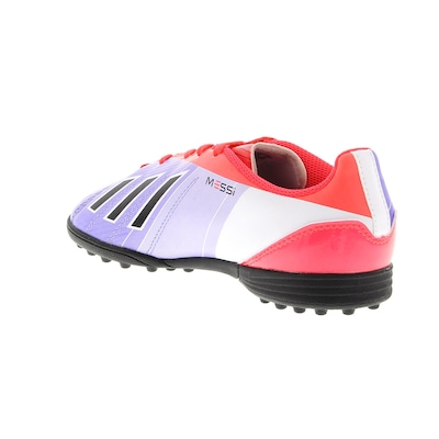 Chuteira do Messi Society adidas F5 TRX TF - Infantil