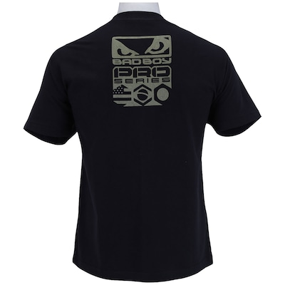 Camiseta Bad Boy Pro Series Bandeiras - Masculina
