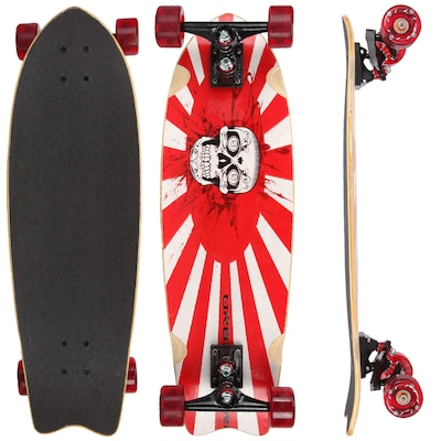 Longboard Us Boards Fish 38100 34 Polegadas