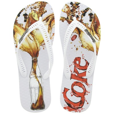 Chinelo Coca-Cola Over - Masculino