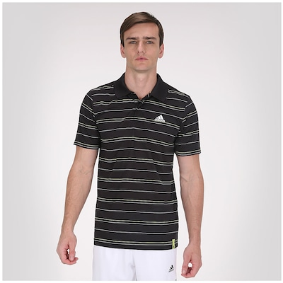 Polo adidas Stripes Sequentials - Masculina