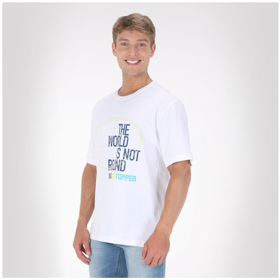 Camiseta Topper World 4128598 - Masculina