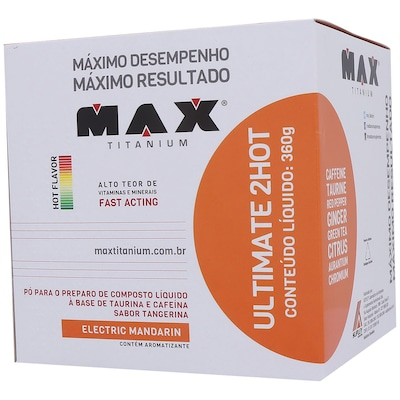 Ultimate 2Hot - 360 g - Sabor Tangerina - Max Titanium