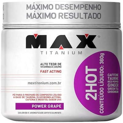 Ultimate 2Hot - 360 g - Sabor Uva - Max Titanium