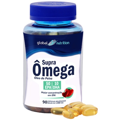 Func Global Sports Oleo Peixe 1000Mg 90