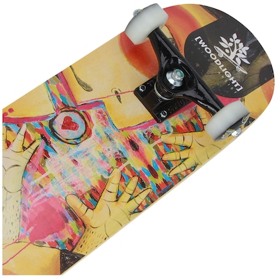 Skate Wood Light Pro W034