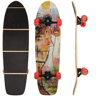 Longboard Wood Light Free Ride W060