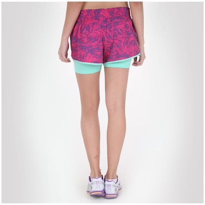 Short com Bermuda de Compressão Mizuno Creation 5 C - Feminino