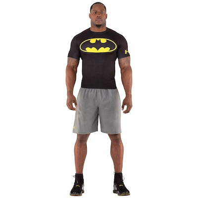Camiseta de Compressão Under Armour Batman - Masculina