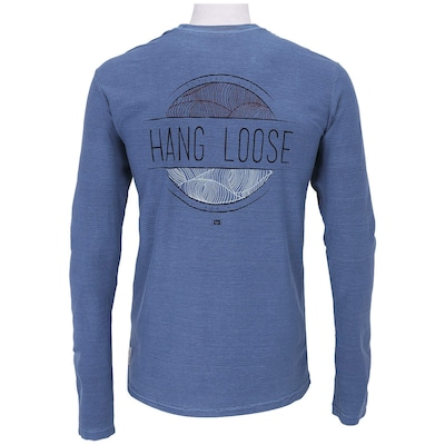 Camiseta Manga Longa Hang Loose Wave