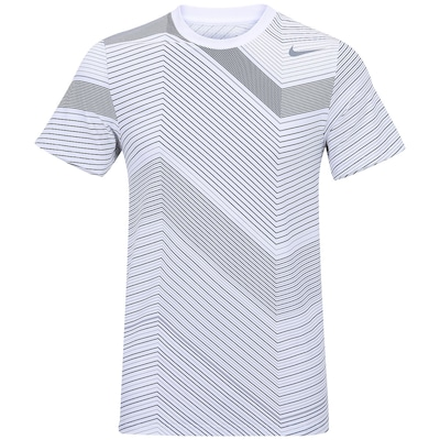 Camiseta Nike Rally Sphere Stripe Crew