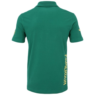 Camisa Polo Puma Camarões Hooped