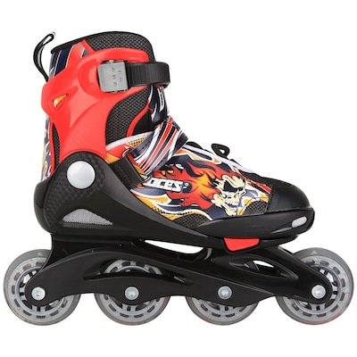 Patins Roces Compy 5 0 - In Line - Fitness - ABEC 7 - Infantil