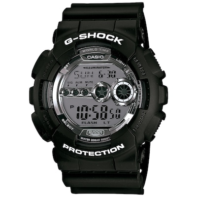 Relógio Digital Casio G-Shock GD-100BW - Masculino