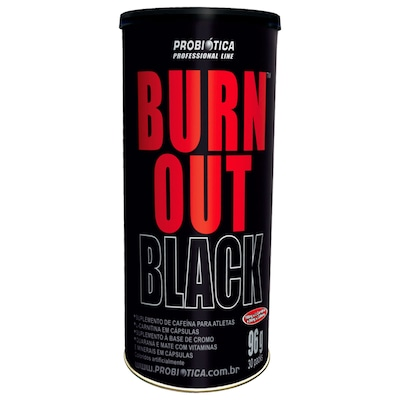Pack Probiótica Burn Out Black - 30 Packs