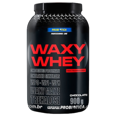 Whey Protein Probiótica Waxy Maize - Chocolate - 900g