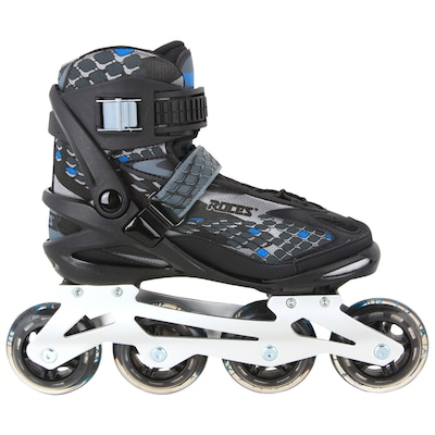 Patins Roces Equalizer - In Line - Fitness - ABEC 5 - Base de Alumínio