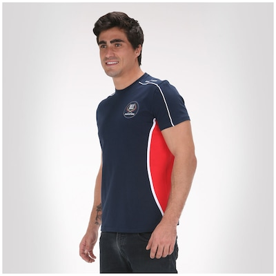 Camiseta Red Bull SC Recorte Later - Masculina