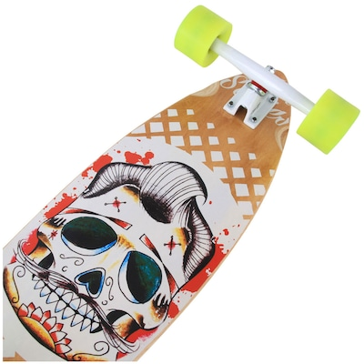 Long Board Wood Light Cruizer Fish W084