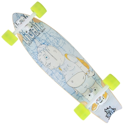 Long Board Wood Light Cruizer Fish W090