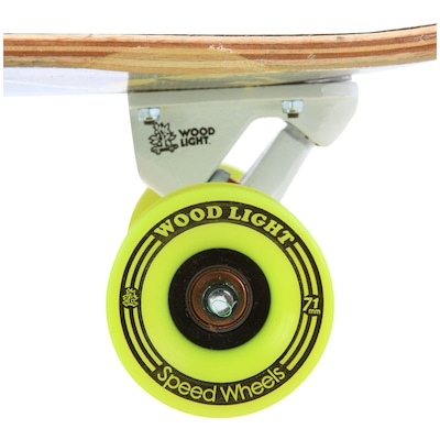 Longboard Wood Light Free Ride W102