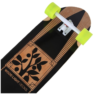 Longboard Wood Light Free Ride W107