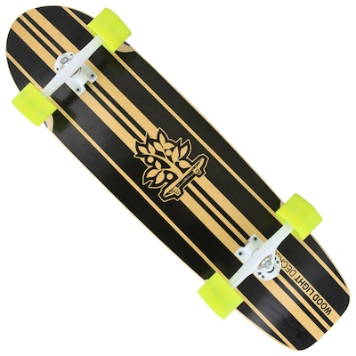 Longboard Wood Light Free Ride W109