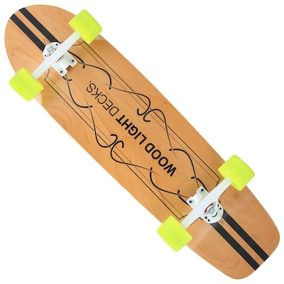 Longboard Wood Light Free Ride W110