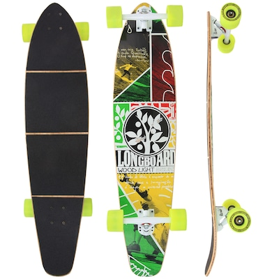 Long Board Wood Light Free Ride W121