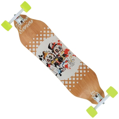Long Board Wood Light Street Curve W114